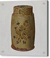Pa. German Jar Acrylic Print