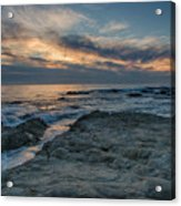 Pacific Grove Sunset Acrylic Print