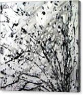 Painting Noir Acrylic Print