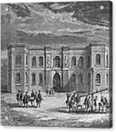 Paris Observatory, 17th Century Acrylic Print