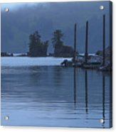 Peaceful Kachemak Bay Acrylic Print