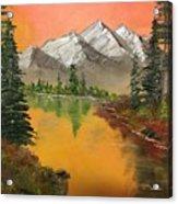 Pine Lake Acrylic Print