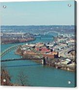 Pittsburg Skyline Acrylic Print
