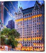 Plaza Hotel Acrylic Print