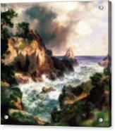 Point Lobos, Monterey, California Acrylic Print