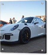 Porsche 911 Gt3rs Acrylic Print