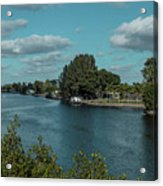 Port Charlotte From Edgewater Acrylic Print