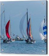 Port Huron To Mackinac Race 2015 Acrylic Print