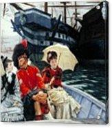 Portsmouth Dockyard Acrylic Print