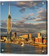 Portsmouth Harbour England  Acrylic Print