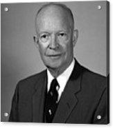 President Dwight Eisenhower - Two Acrylic Print