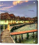 Punta Caracol Acrylic Print