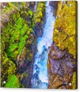 Pyrenees Waterfall Acrylic Print