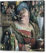 Rabelais: Gargantua, 1873 Acrylic Print by Granger