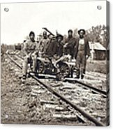 Railroad Workers Acrylic Print