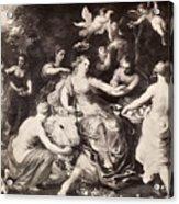 Rape Of Europa Acrylic Print