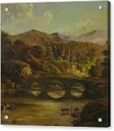 Renoir Lives Here Acrylic Print by Tigran Ghulyan