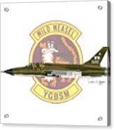 Republic F-105g Thunderchief 561tfs Acrylic Print