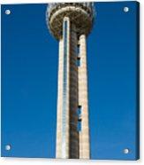 Reunion Tower - Dallas Texas Acrylic Print
