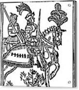Richard I (1157-1199) Acrylic Print