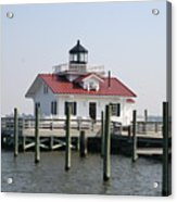 Roanoke Marshes Lighthouse Acrylic Print