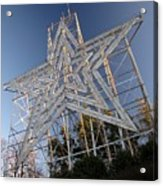 Roanoke Star In Late Afternoon Acrylic Print