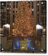Rockefeller Center And The Famous Acrylic Print