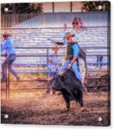 Rodeo Rider Acrylic Print
