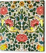 Rose Design Acrylic Print