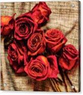 Rose - Flower Acrylic Print
