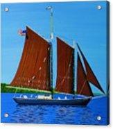 Roseway On Lake Superior Acrylic Print