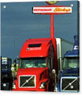Route 66 - Dixie Truckers Home Acrylic Print