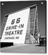Route 66 - Drive-in Theatre Acrylic Print