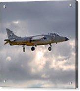 Royal Navy Sea Harrier Acrylic Print
