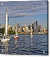 Sailing To Seattle Acrylic Print