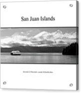 San Juan Islands Acrylic Print