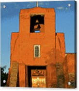 San Miguel Mission Church Acrylic Print