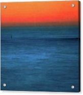 Santa Monica Sunset 1 Acrylic Print
