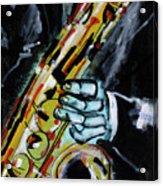 Sax Co-notations Acrylic Print