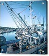 Scenery Around Monterey Bay California In Spring Acrylic Print
