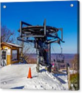 Scenery Around Timberline Ski Resort West Virginia Acrylic Print