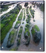 Sea In Barrika, Bizkaia Acrylic Print