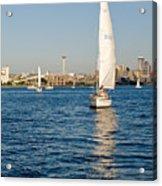 Seattle Sailing Acrylic Print