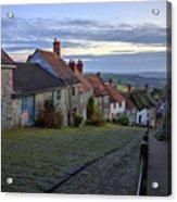 Shaftesbury - England Acrylic Print