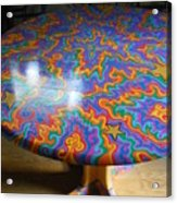 Sharpie Star Table Acrylic Print