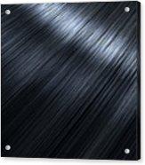Shiny Black Hair  Acrylic Print