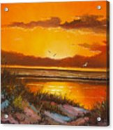 Siesta Sunset Acrylic Print