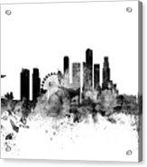 Singapore Skyline Acrylic Print