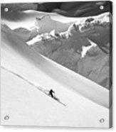 Ski Denali Acrylic Print