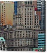 Skyline Of Manhattan - New York City Acrylic Print